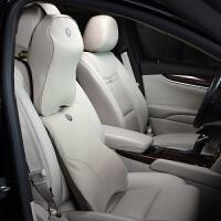 凯迪拉克ATS-L XTS SRX专用真皮记忆棉汽车座椅护腰靠垫头枕套装