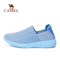 camel 骆驼户外休闲鞋 女款轻便透气低帮耐磨运动休闲鞋