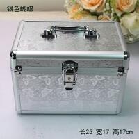 小号铝合金箱化妆箱美甲纹绣工具箱足浴美容箱足疗技师手提收纳箱