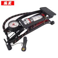 脚踏车载充气泵车用打气泵便携式高压脚踩摩托汽车轮胎打气筒