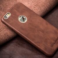 苹果iphone6 4.7手机套外壳 iphone6薄真皮保护套商务后盖