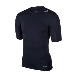 Adidas阿迪达斯 2017新款男子透气运动训练短袖T恤 AJ4966
