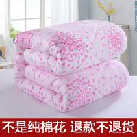 棉花被子全棉被芯双人单人学生冬季棉被宿舍加厚保暖棉絮冬被10斤