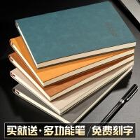 笔记本文具a5记事本加厚大本子b5商务办公日记本批发定制可印logo