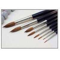 德国Da Vinci达芬奇999 红貂毛 圆头水彩画笔 达芬奇水彩笔 1