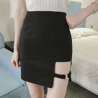 春夏新款性感个性不规则包臀裙修身显瘦半身裙修身高腰短裙潮