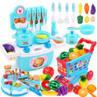 �和�做��N房套�b仿真�N具�^家家����小孩煮��^家家女孩玩具全套