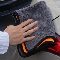 汽车用洗车毛巾擦车布吸水加厚抹布车载内饰清洁专用巾不掉毛