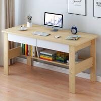 简易电脑桌家用台式单板桌学生用办公学习电脑桌创意经济家用桌子