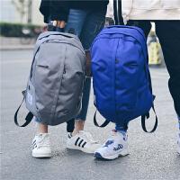 双肩包男潮流简约百搭帆布背包学生时尚休闲书包女户外旅行包运动