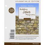 【预订】Building Java Programs, Student Value Edition