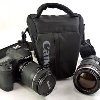 佳能单反包三角包EOS60D6D27D2 70D80D5D25D35D4单反包腰包相机包