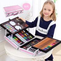 儿童画画工具小学生水彩笔画笔绘画套装美术学习用品女孩生日礼物