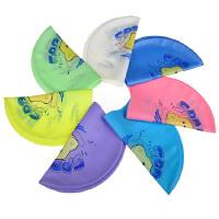 儿童泳帽 游泳帽男童女童泡泡鱼河马图案