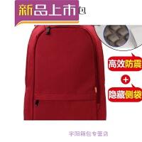 时尚小米笔记本背包15.6寸男双肩电脑包14寸女戴尔防震SN8024