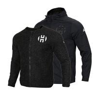 Adidas阿迪达斯 男装 运动夹克两件套篮球外套 DX9972