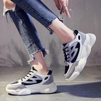 运动鞋 女士时尚运动鞋2019新款透气女式韩版潮鞋小白运动鞋网红秋款女鞋子