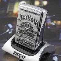 芝宝正品防风Zippo打火机 镀铬镜面贴章 之宝250JB928占边锡徽章标志
