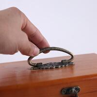 针线盒套装针线包家用复古缝纫线针线收纳盒十字绣工具实木结婚款