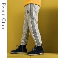 【3件2折:65.8】铅笔俱乐部童装2020春装新款男童长裤中大童休闲裤子儿童运动裤