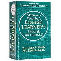 韦氏基础英语词典 英文原版英英字典 Merriam-Webster's Essential Learner's Eng