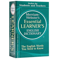 韦氏基础英语词典 英文原版英英字典 Merriam-Webster's Essential Learner's Engl