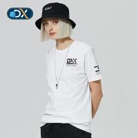 【折后价83.58】Discovery非凡探索户外春夏2018男女短袖印花T恤DAJG80191