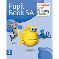 【预订】Collins New Primary Maths. 3a, Pupil Book 9780007220250
