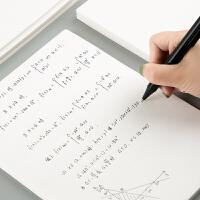 广博B5草稿纸批发免邮学生用空白数学演算打草演草纸10本装实惠白纸本子薄便宜大学生考研专用纸张加厚