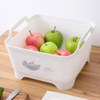 塑料水槽家用洗菜篮洗菜筐洗水果蔬菜篮子厨房洗菜盆淘菜篮沥水篮