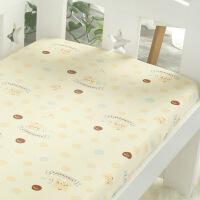 定做 A类 纯棉婴儿床笠 单件儿童婴幼儿床上用品 新生儿宝宝床单