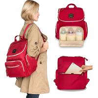 大容量妈咪包双肩背包外出包 尼龙款妈咪包