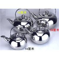 无磁加厚不锈钢茶壶雅典壶水壶泡茶壶玲珑壶温酒壶烧水壶咖啡