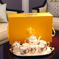 欧式茶具套装客厅茶几摆件陶瓷家居装饰品创意礼品送闺蜜结婚礼物