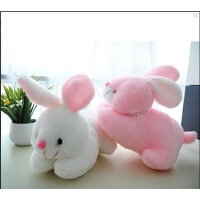 毛绒玩具兔子公仔趴趴兔流氓小白兔 儿童生日礼物礼品可爱萌玩偶 30厘米长