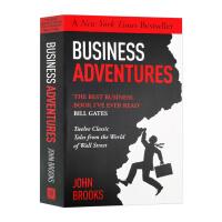 商业冒险 华尔街世界的12个故事 英文原版 Business Adventures 英文版经济读物 比尔盖茨 巴菲特推