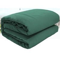 床上用品 军绿色 三件套 学生军训宿舍单位单人 床单枕套被罩