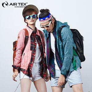 AIRTEX亚特防晒抗紫外线透气登山旅行跑步运动女男式皮肤风衣