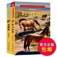 正版金蟒蛇生态文学系列动物小说大王沈石溪品藏书系全套2册金