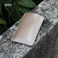 苹果iPod touch6保护套iPod6皮套touch5手机套iTouch直插套内胆包 单层 香槟金