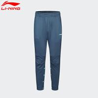 李宁卫裤男裤运动时尚男子秋冬季加绒保暖收口长裤新款运动裤