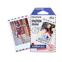 富士拍立得 mini8/9/7s/25/70/90 相机通用相纸mini航空信相纸10张