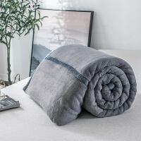 品质北欧毛毯被子加厚拉舍尔珊瑚绒毯子秋冬季保暖法兰绒床单 200x230cm 5斤