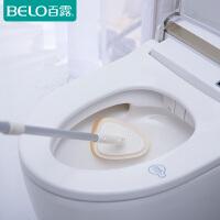 百露可伸缩海绵刷长柄卫生间瓷砖地刷洗地刷浴室浴缸清洁刷