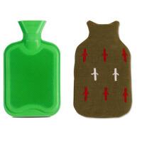 可格橡胶注水热水袋  充水大小号暖水袋  厚款暖手宝