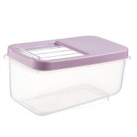 储米桶米箱20斤塑料防虫面粉桶厨房米缸大米罐家用10kg装收纳米桶