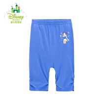 迪士尼甜美公主五分裤夏季纯棉休闲裤162K706