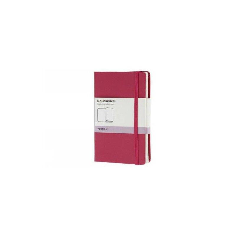 英文原版 Moleskine Dark Pink Pocket Portfolio Hard