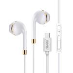 【支持礼品卡+包邮】LUOBR 洛倍尔 Type-C接口耳机 乐视手机耳机音质好 金色G6