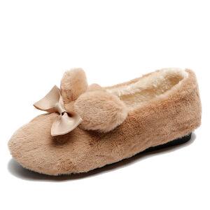 WARORWAR新品YM151-S837冬季韩版平底舒适女士雪地靴毛毛鞋